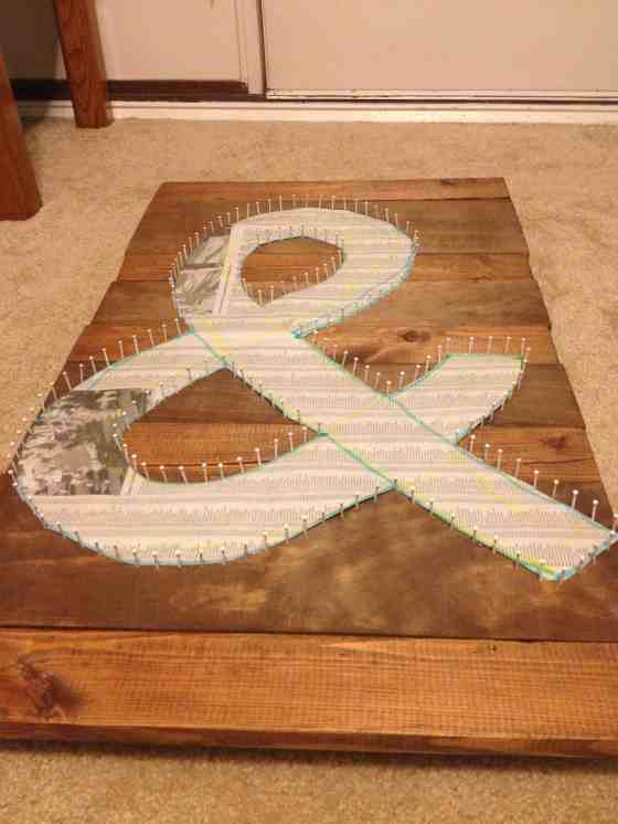Making Rustic String Art - Charleston Crafted