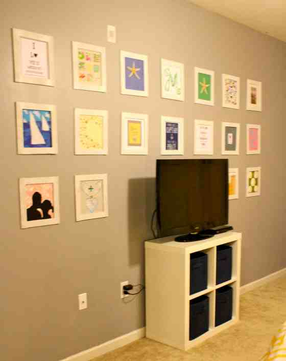 Grid Gallery Wall - Charleston Crafted