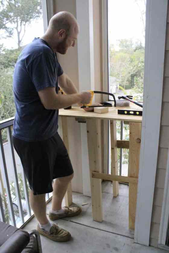 Building a Work Station - Charleston Crafted