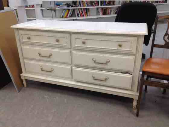 A Goodwill Dresser Makeover - Charleston Crafted