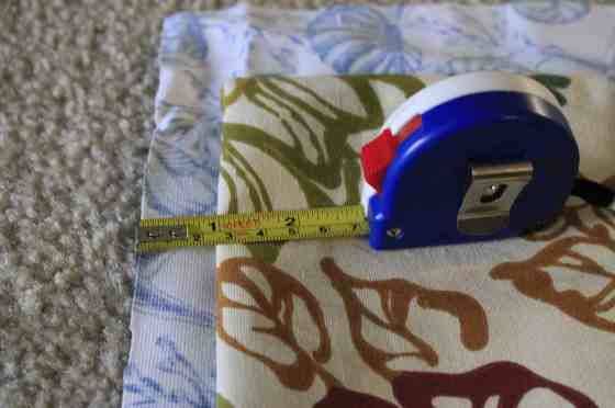 No Sew Pillow Cover with Piping - Charleston Crafted