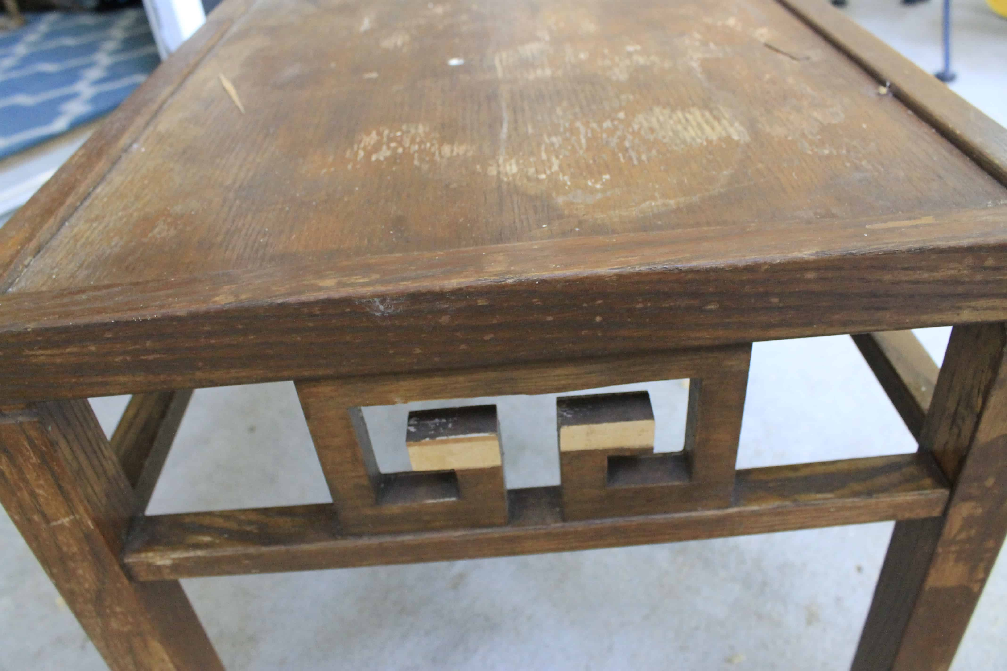 Making Over An Old Coffee Table   Charleston Crafted