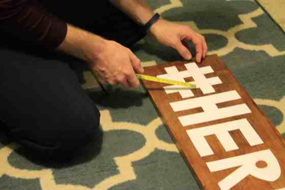Hashtag String Art - Charleston Crafted