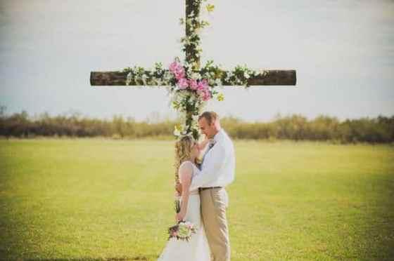 Wedding Cross Inspiration - Charleston Crafted