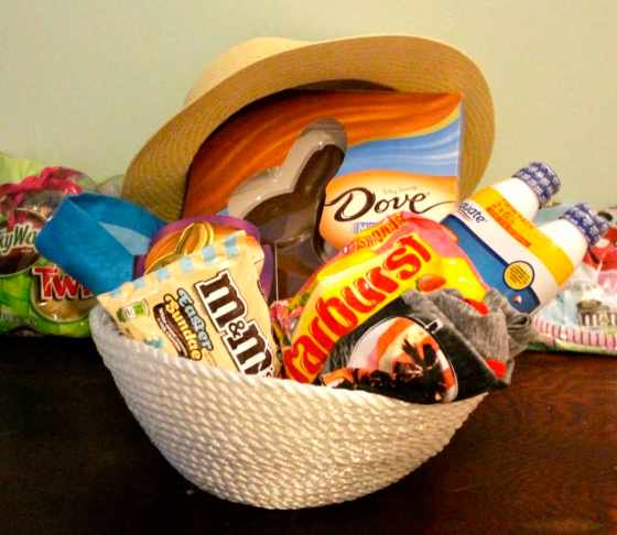 DIY Rope Bowl Tutorial & A Coastal Easter Basket for Him - Charleston Crafted