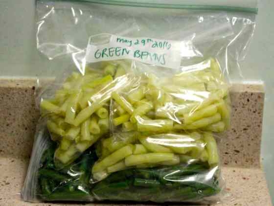 How to Freeze Green Beans - Charleston Crafted