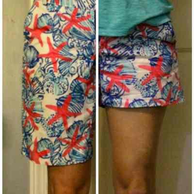 How to Shorten a Pair of Bermuda Shorts