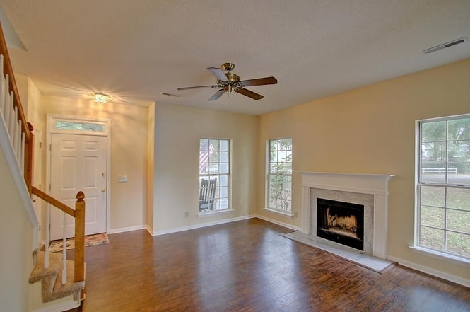 initial living room - charleston crafted