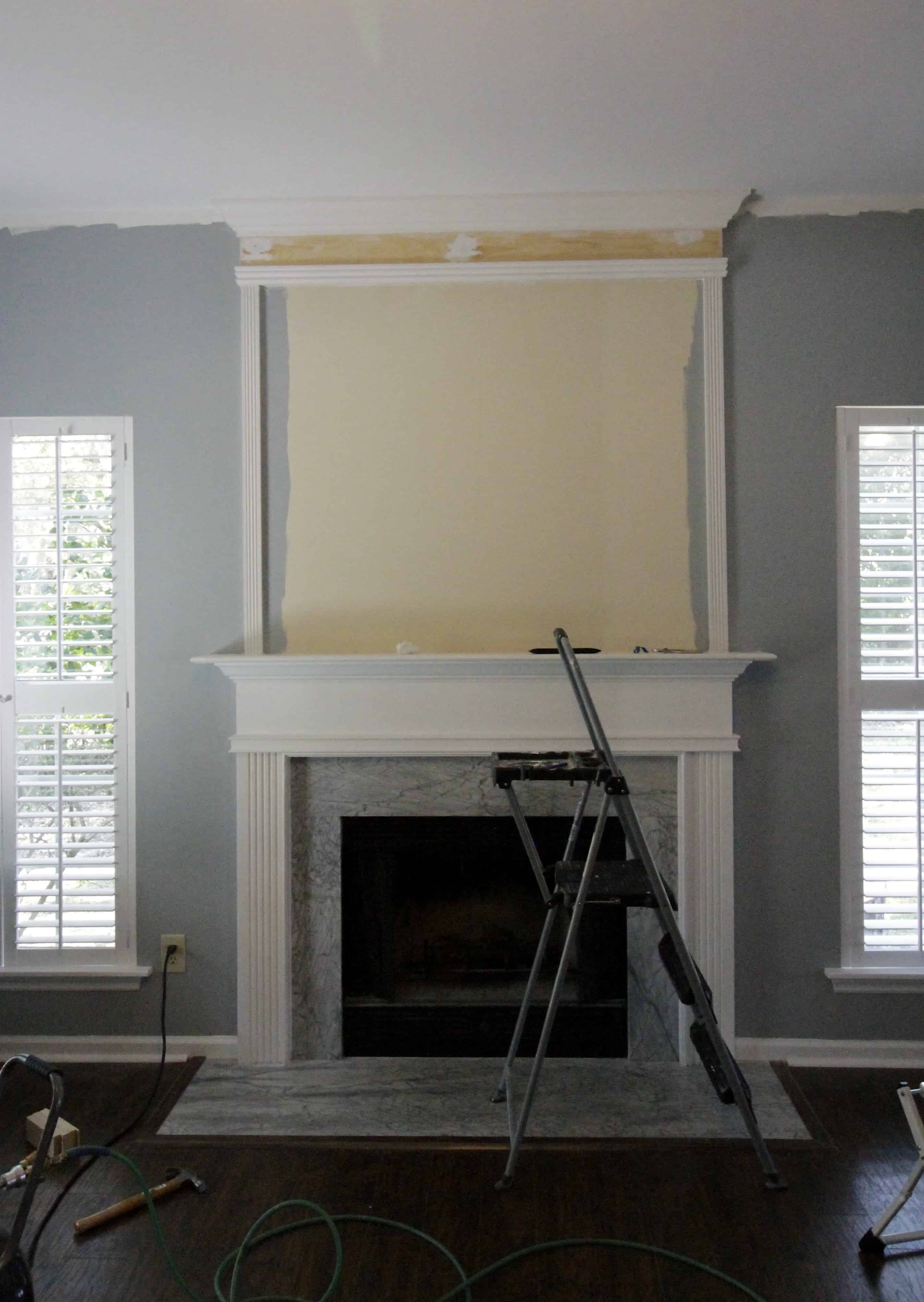 orc week 3 how to use moulding to extend your fireplace
