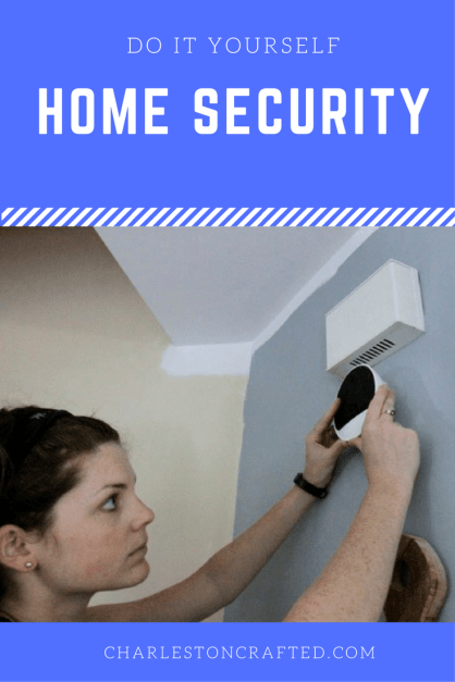 DIY Home Security System with Get Safe Review - Charleston Crafted