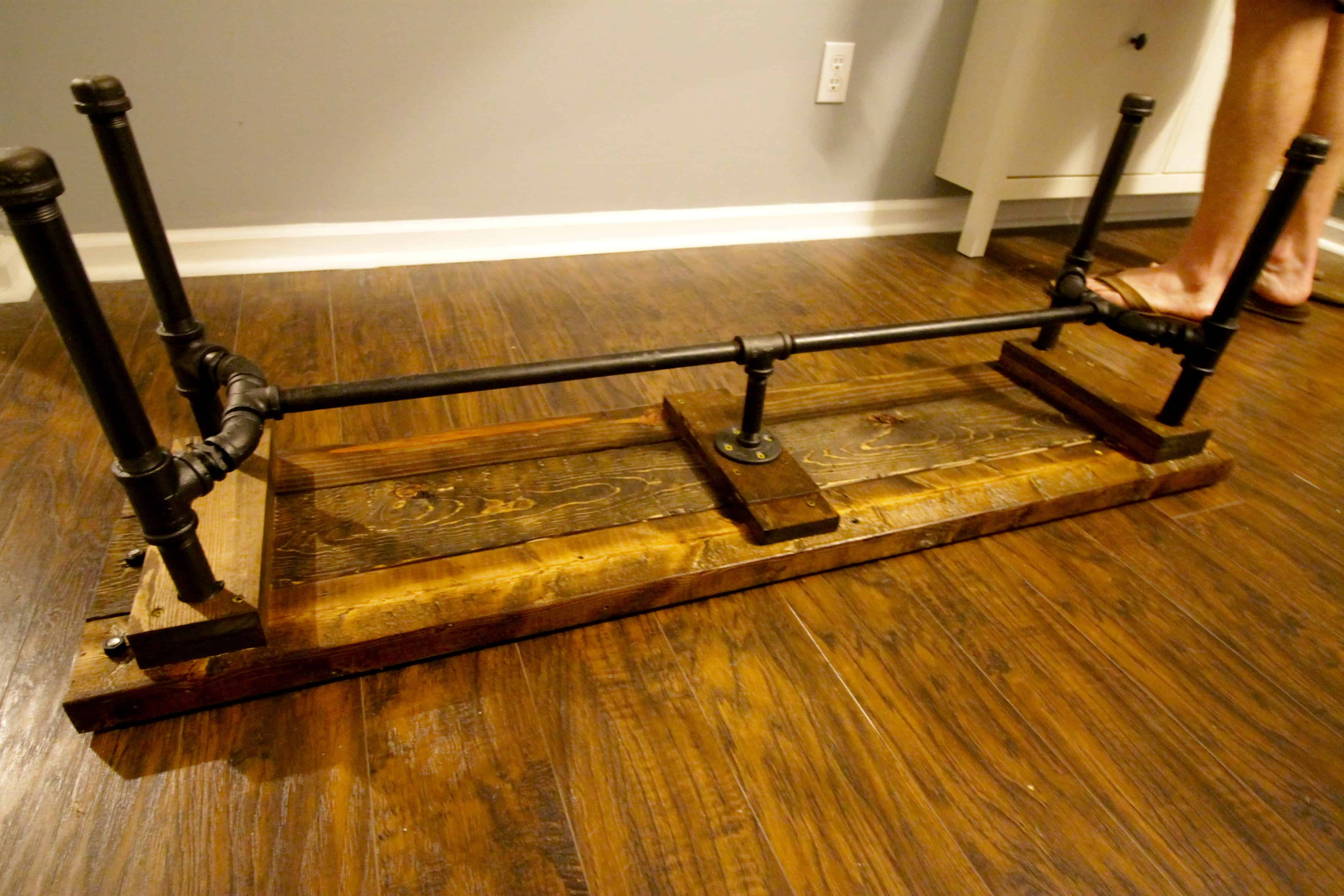 ORC Week 5 DIY Industrial Pipe Bench • Charleston Crafted