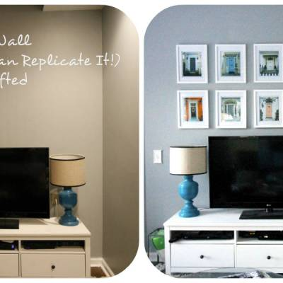 A Door Gallery Wall (And How You Can Replicate It!)