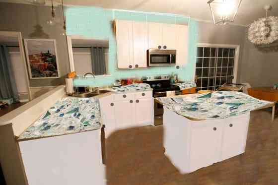 Coastal Kitchen Updates: Option 3 - Charleston Crafted