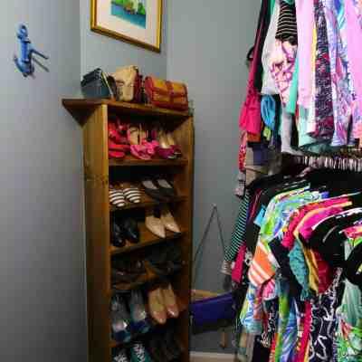 ORC: Custom Wooden Shoe & Handbag Storage