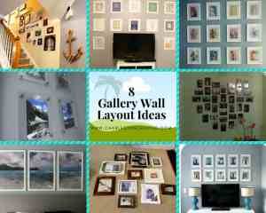 8 Gallery Wall Layout Ideas - Charleston Crafted