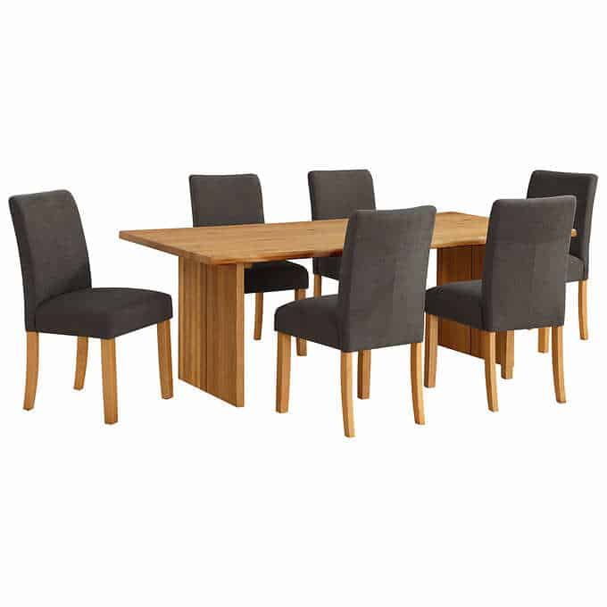 southbridge dining table - Gorgeous Dining Room Furniture that you wouldn't believe came from COSTCO! via charleston crafted
