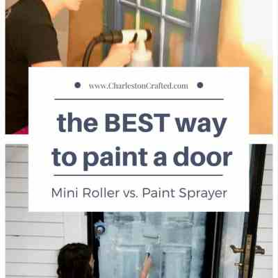 Which is the BEST Way to Paint a Door: Roller or Sprayer?