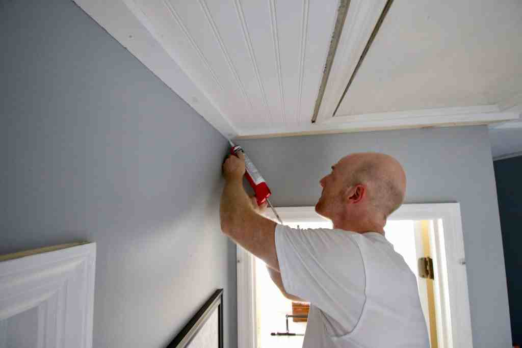 100 Challenge Cover Popcorn Ceilings With Beadboard