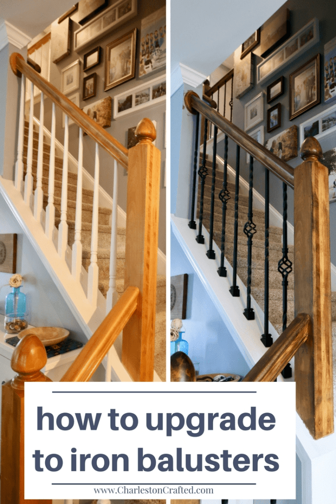 How To Replace Wooden Balusters With Iron The Easy And Cheap Way | Iron Spindles Home Depot | Ole Iron Slides | Wm Coffman | Stair Parts | Oil Rubbed | Deck