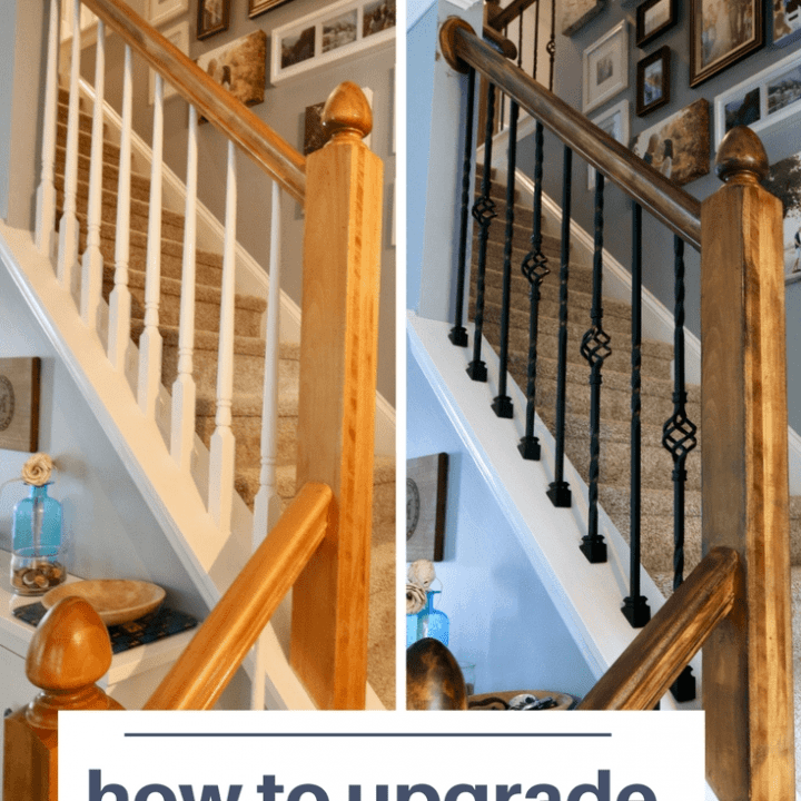 How To Replace Wooden Balusters With Iron The Easy And Cheap Way | Wrought Iron Stair Railing Cost | Spiral Staircase | Traditional | Background | Raw Iron | Rot Iron