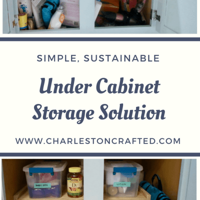 Under Cabinet Storage Solution