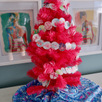 DIY Lilly Pulitzer Pink Christmas Tree