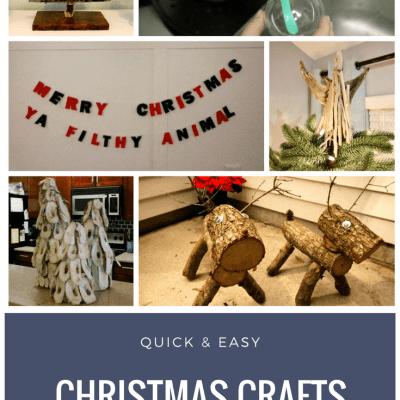 Quick DIY Christmas Crafts via Charleston Crafted