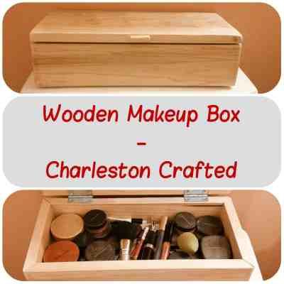 Wooden Makeup Box