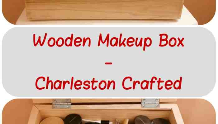 Wooden Makeup Box