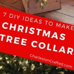 7 Diy Christmas Tree Collar Ideas
