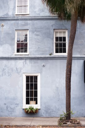 A COLORFUL, OLD SOUL: Charleston's cocoon of gentility is a visual feast for anyone who enjoys curious details, secret alleyways, and an unexpected pop of blue.