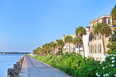 WATERFRONT STROLL: A stroll along Charleston's waterfront promenade is a favorite pastime of visitors and locals alike!