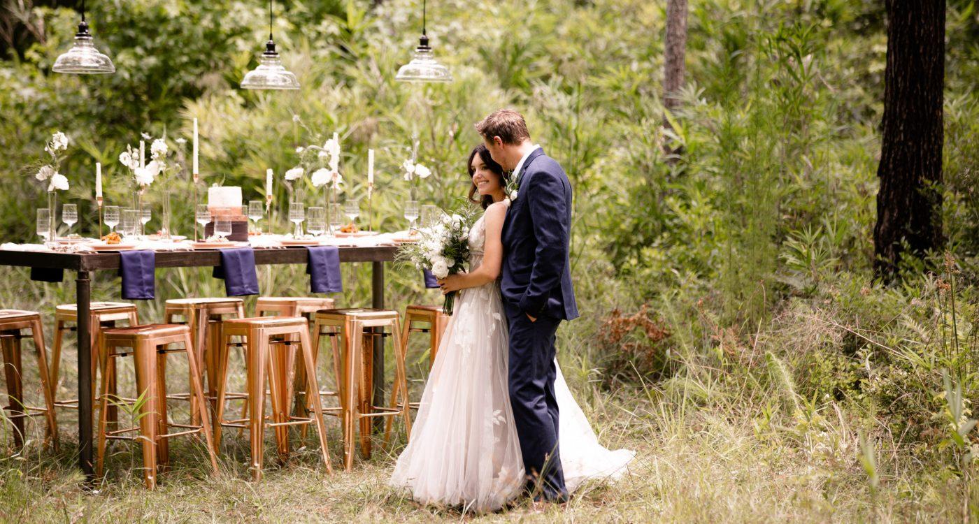 Enchanting Micro Wedding Inspiration at The Woodlands Nature Reserve