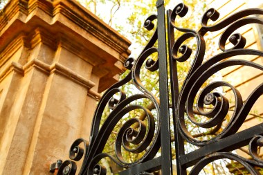 HAVE YOU SEEN Charleston's amazing wrought iron gates? This one is found on Legare Street.