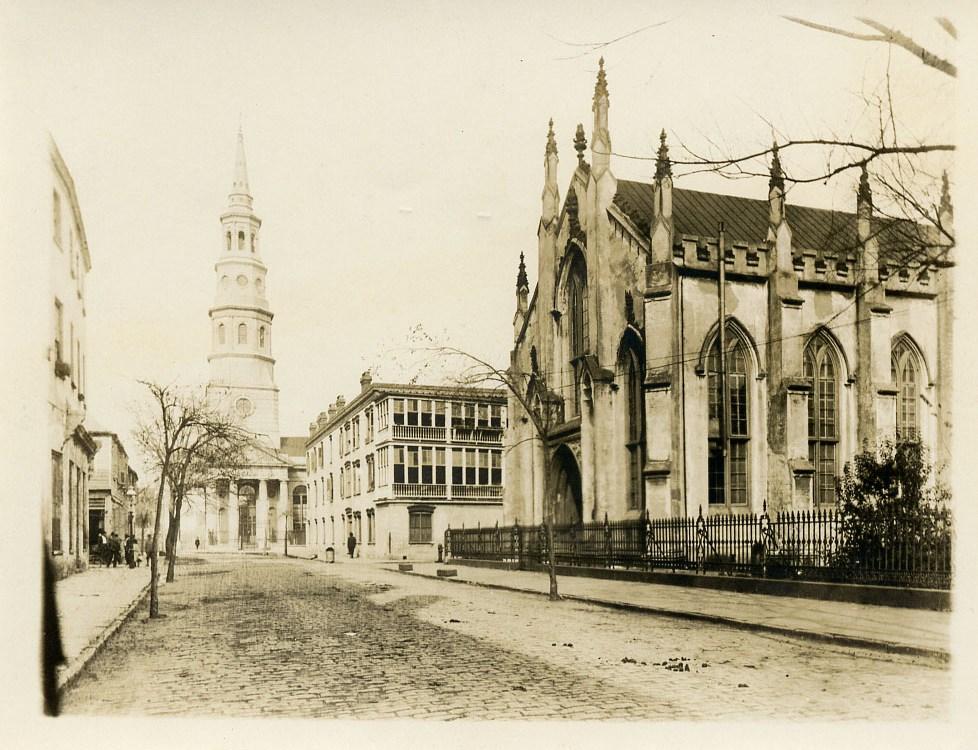 4 Charleston Locales Then & Now