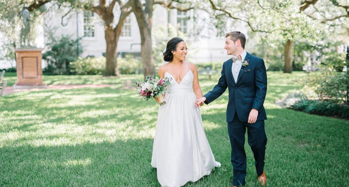 Paige & Tony: The Cedar Room - Explore Charleston Blog