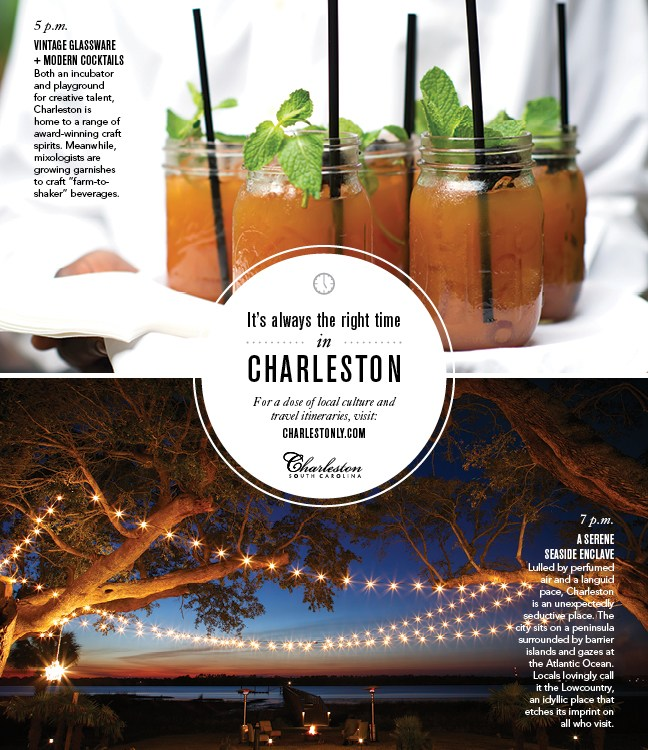 Always the right time for Charleston, S.C.