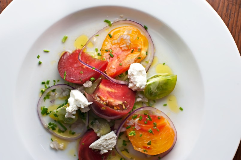 AS COLORFUL AS THEY ARE SWEET & DELICIOUS: Vine-ripened tomatoes grown in Charleston