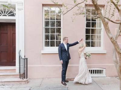Cathy + Adam: Charleston Elopement
