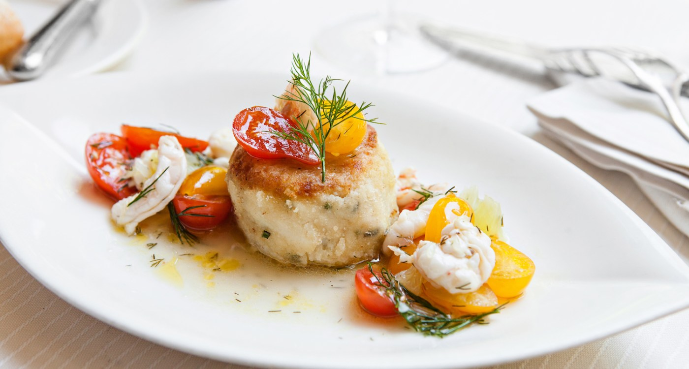 Learn the Secret Behind Charleston Grill's Celebrated Crab Cake