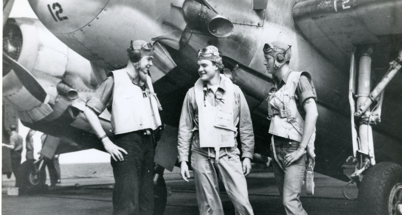 10 Historic Photos of Heroes via Patriots Point
