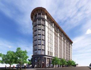 A rendering of The Montford Building in Charleston