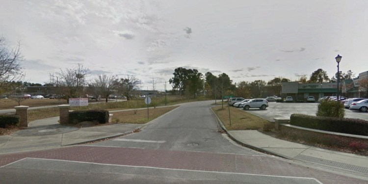 A street view of the central village in Goose Creek