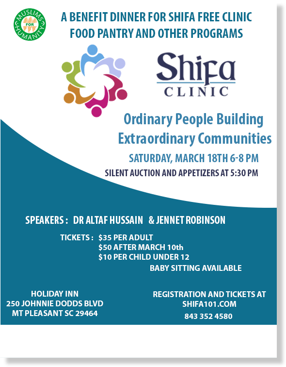 Shifa free clinic annual benefit dinner