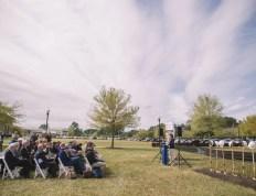 Residence Hall groundbreaking ceremony