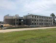 New Residence Hall under construction