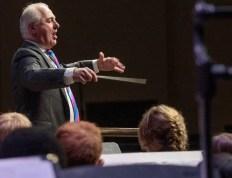 Conductor Noel Tredinnick at Inauguration Concert