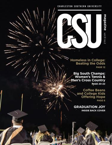 The cover image of Charleston Southern University's magazine Vol. 31 No. 2