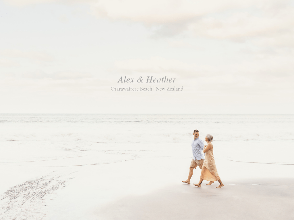 Alex & Heather - Otarawairere, New Zealand