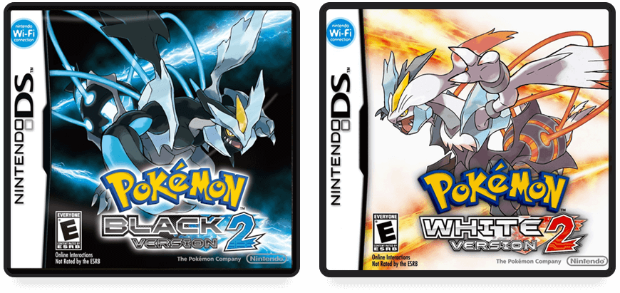 Pokémon Black and White Version 2 Boxes